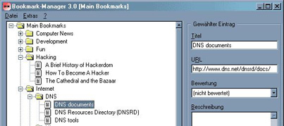 Bookmark Manager 4.0.6