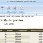 Microsoft Excel Viewer 1.0