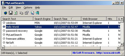 MyLastSearch 1.57